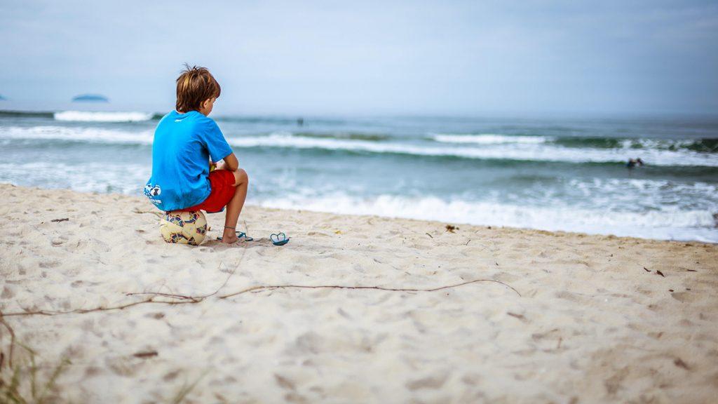 dreng-strand